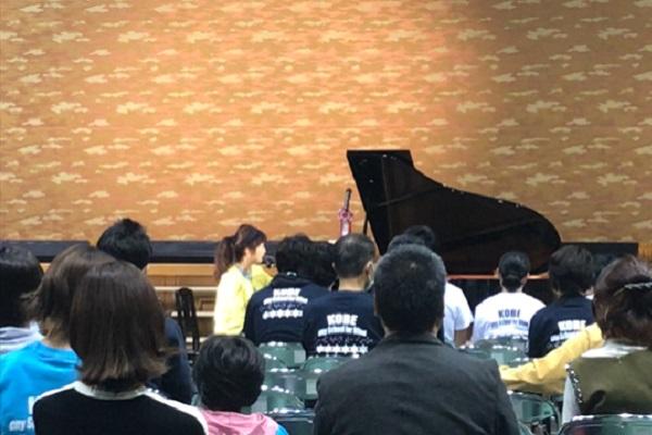 天宮遥さんのピアノ演奏