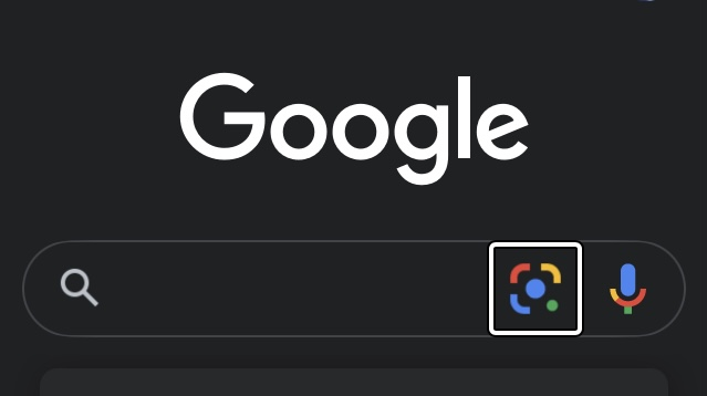 Googleレンズアイコン